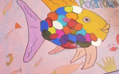 🐠🐟 Ideas de Portfolio, El pez de colores. 🐠🐟