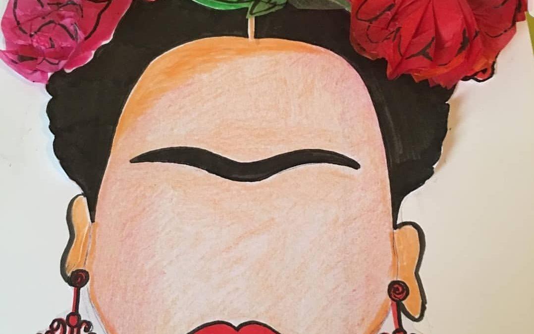 💐 💐 Frida Kahlo. Manualidad y estudio de su persona💐💐⠀⠀⠀⠀⠀⠀